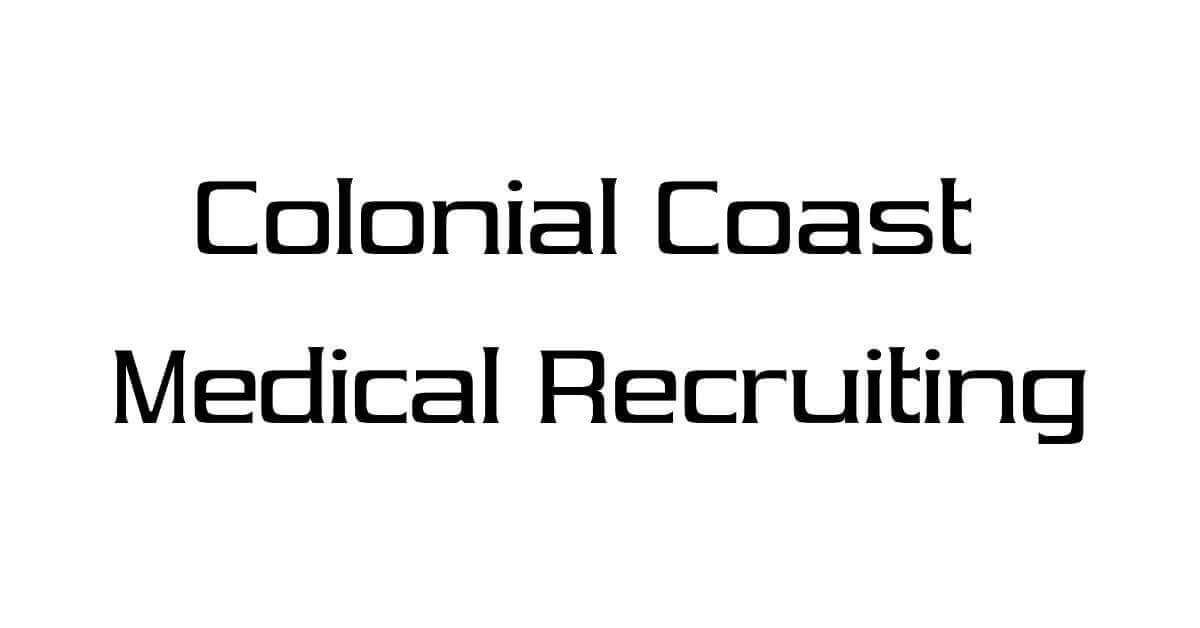 Physician jobs at Colonial Coast Medical Recruiting